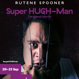 Super HUGH-Man - 20-23 September 2017 - The Basement Theatre, Auckland Auckland Live International Cabaret Season