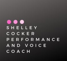 Shelley Cocker Performance and Voice Coach Logo fb black